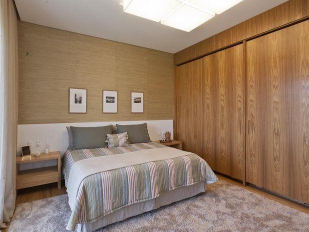 De paredes a deques veja 15 exemplos como usar madeira na  ~ Revestimento De Parede De Quarto Com Umidade