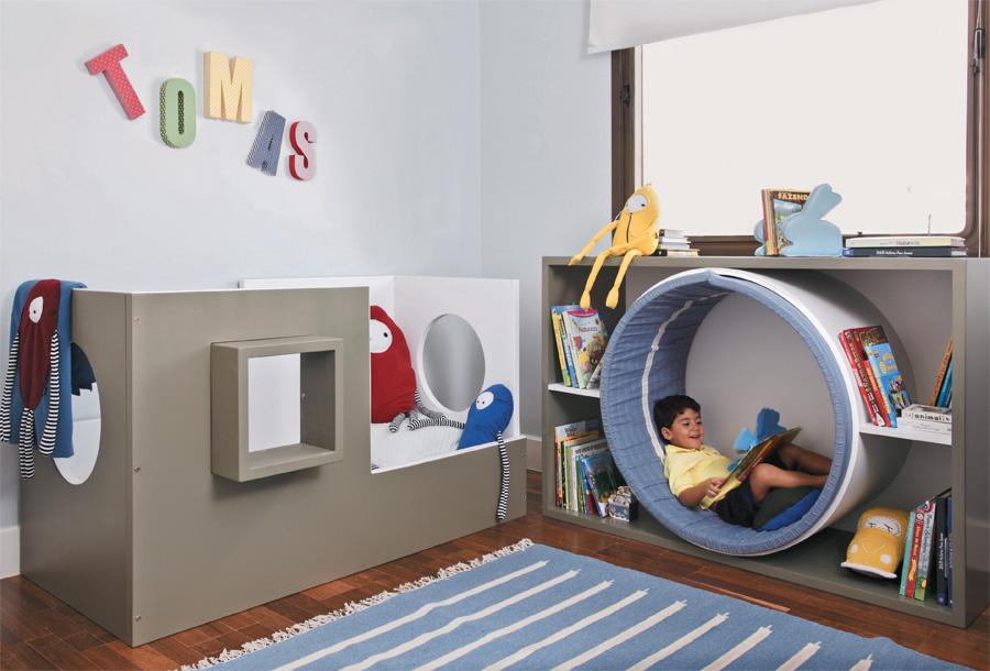 Ideias lúdicas em cinco quartos de crianças ~ Quarto Rustico E Barato