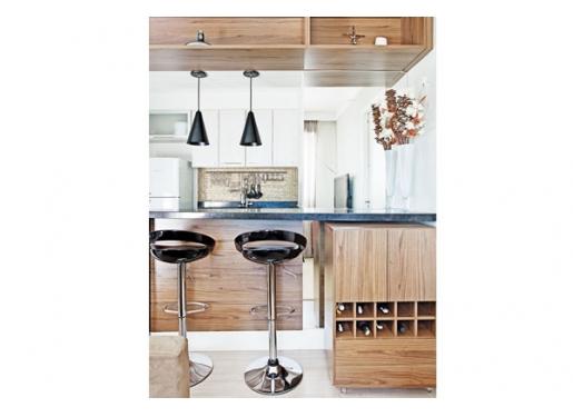 Integração sala e cozinha