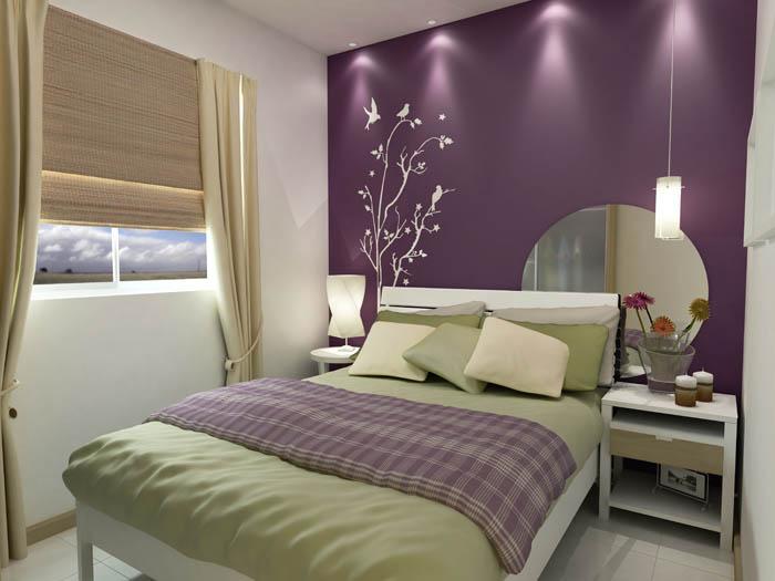 Quarto de casal - Apartamentos em Santos - Myx Imóveis