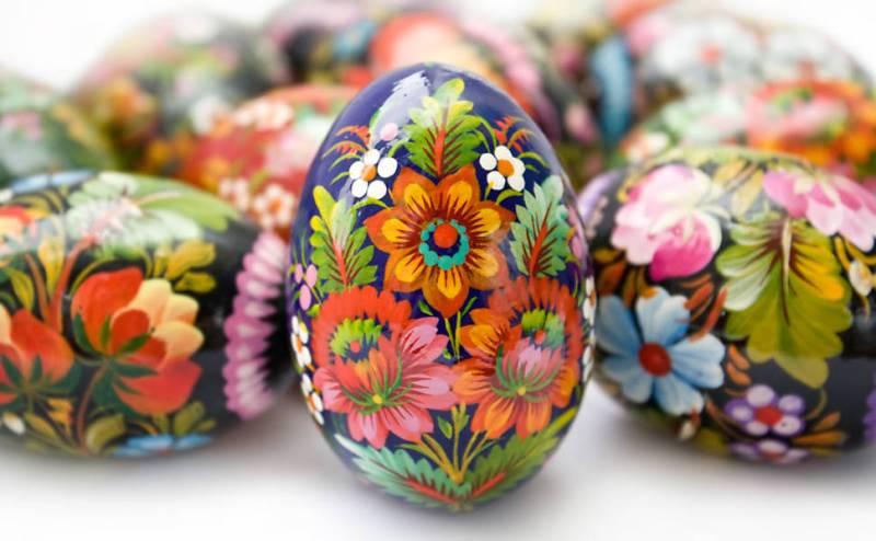 Ovos de Páscoa - A ORIGEM