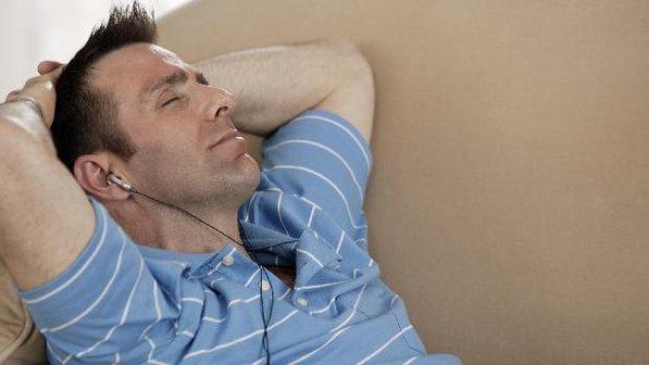 homem relaxamento