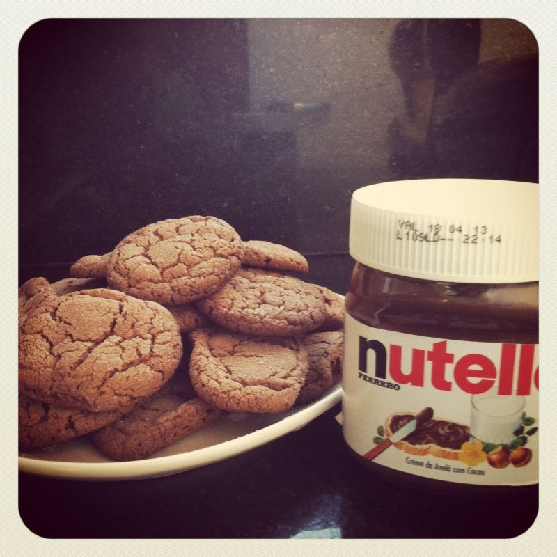 Cookie de nutella