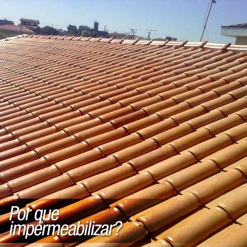 telhas impermeabilizadas