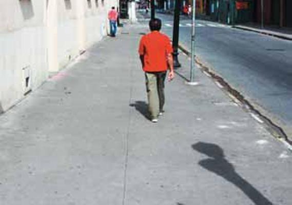 Novo padrão será como as calçadas do Centro