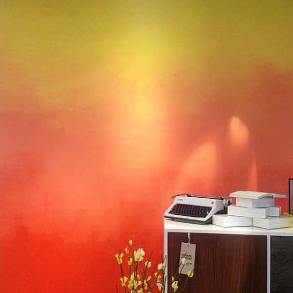 ombre wall2