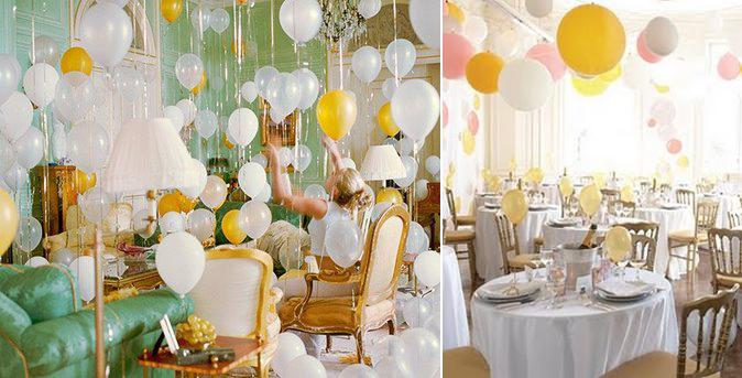 Decoração-de-Réveillon-com-balões