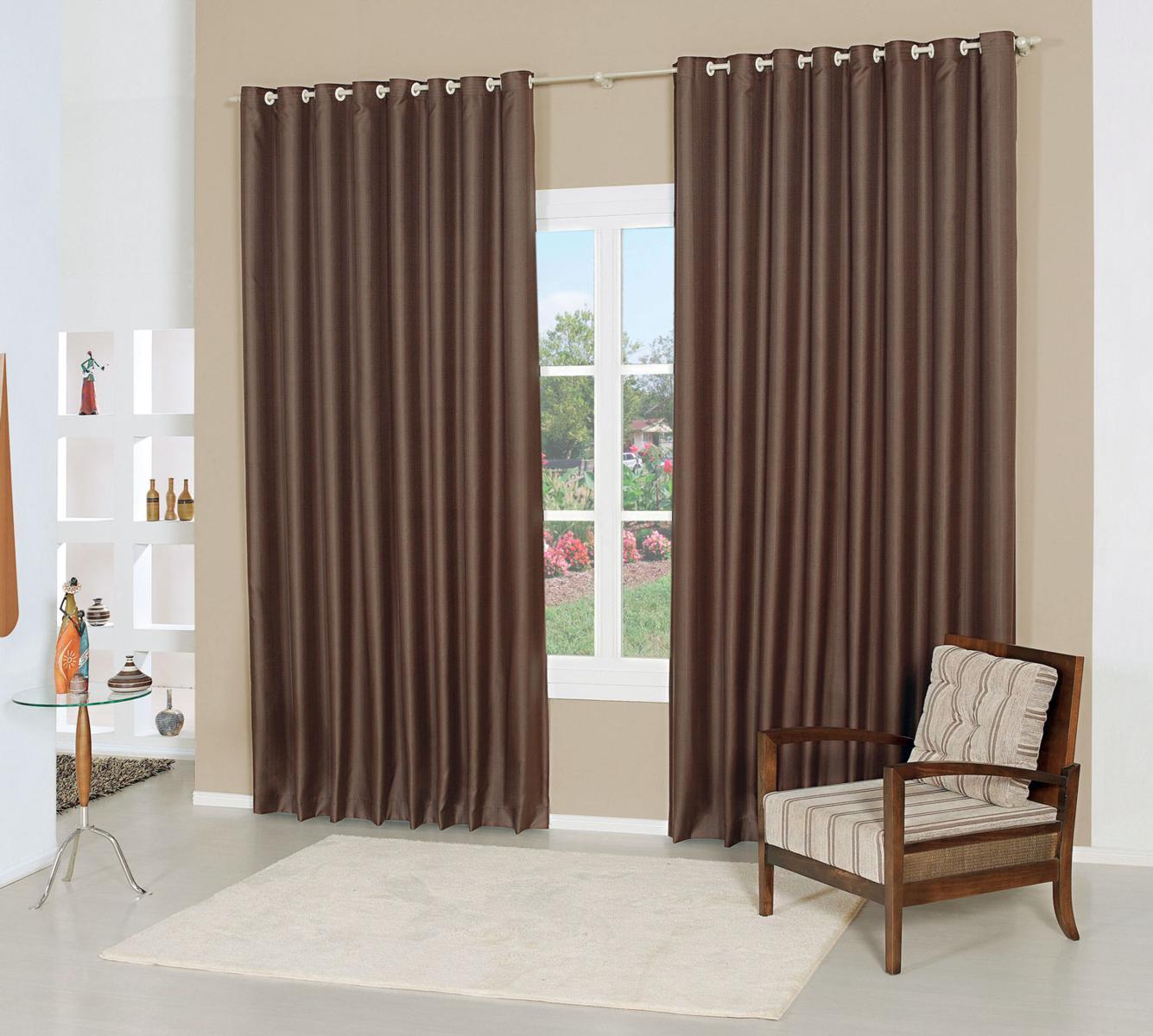 Escolhendo as cortinas para a casa cortinas de tecido for Cortinas para cortinas