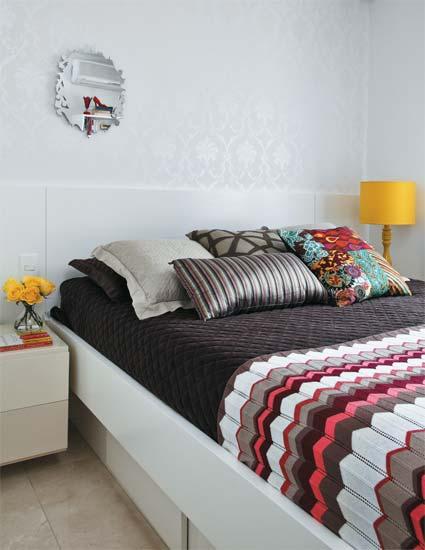 decoração-de-apartamentos-2-dormitorios -quarto